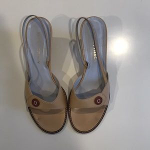 Ellen Tracy Shoes - Ellen Tracy Sling-back Sandal Heel (Size 8.5)